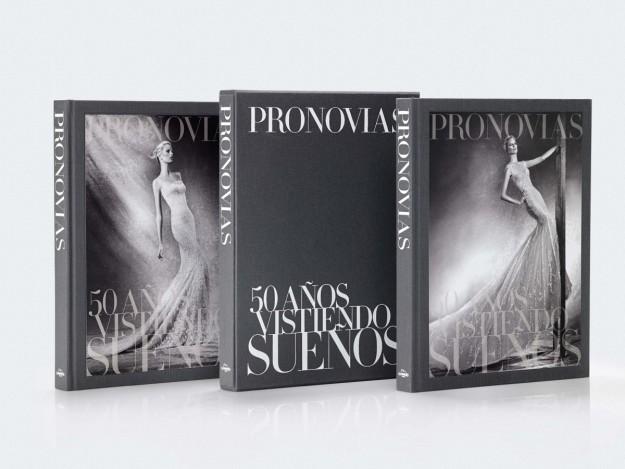Tres libros de Pronovias.