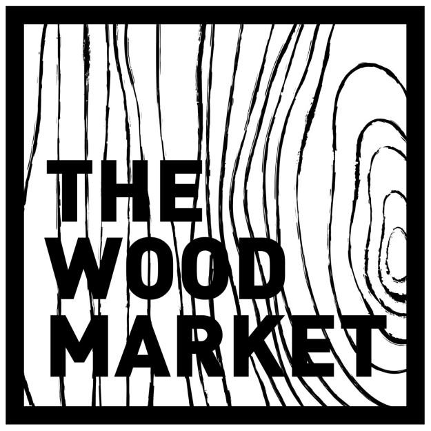 Cartel de The Wood Market.