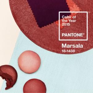 Esta es la gama de colores del PANTONE 18-1438 Marsala. ¡Lo llevarás!