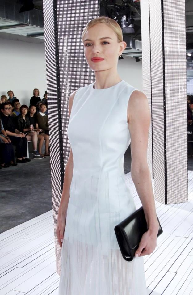 Kate Bosworth el pasado septiembre en la Semana de la Moda de Nueva York.