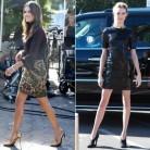 Alessandra Ambrosio vs Behati Prinsloo: Duelo de piernas