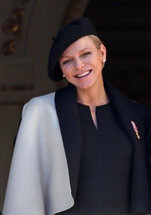 Charlène durante el día nacional del Principado de Mónaco el pasado 19 de noviembre.
