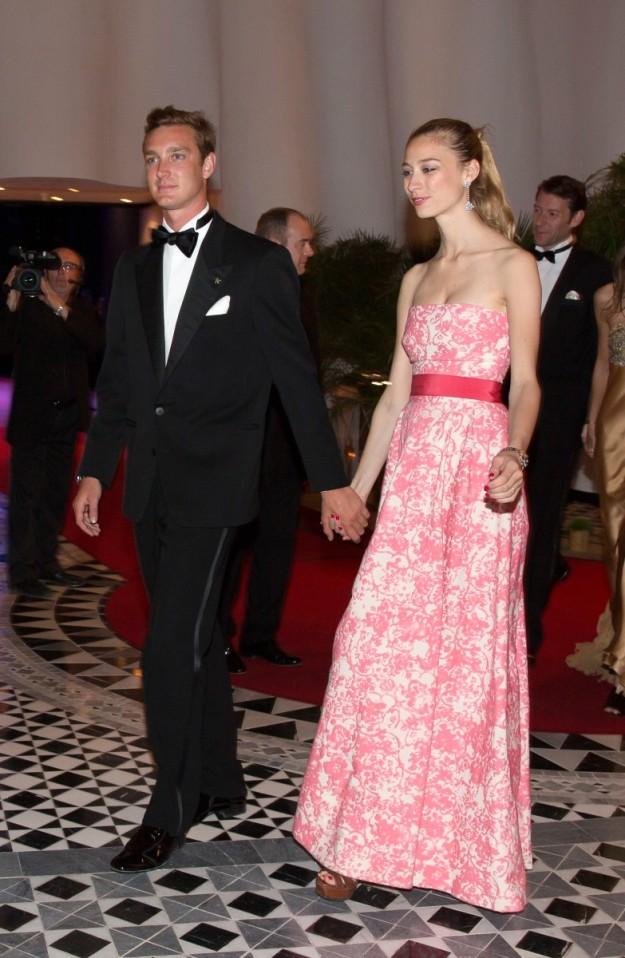La pareja en la gala Grand Prix Fórmula 1 2014