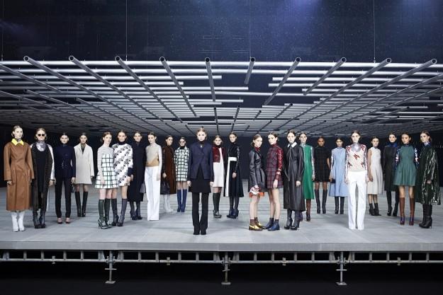 Todos los looks de la pre-colección de Dior para 2015.