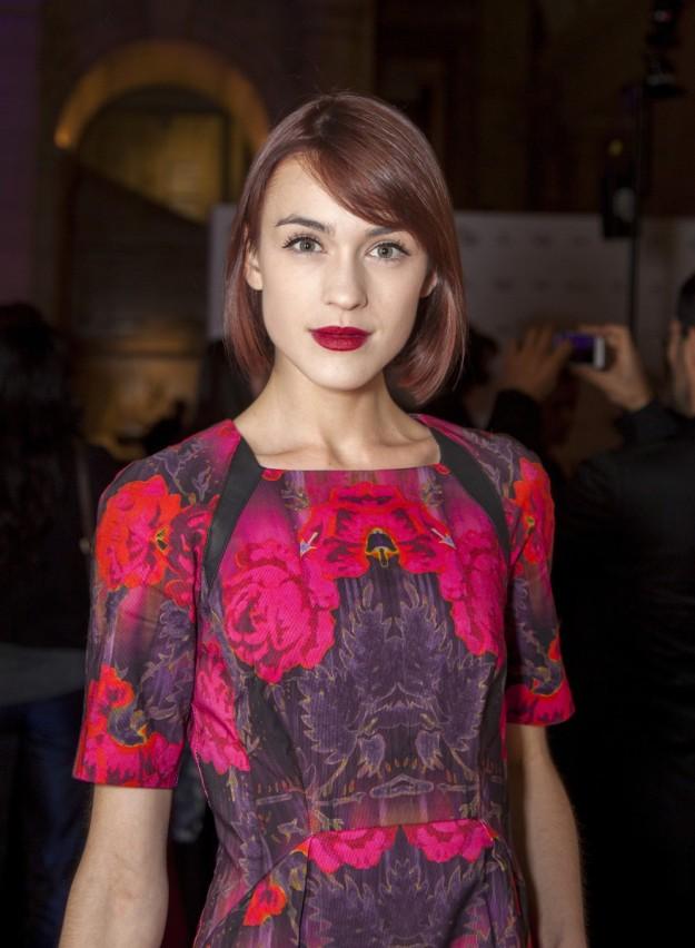 Ella Catliff, la bloguera que mejor imita a Alexa Chung.