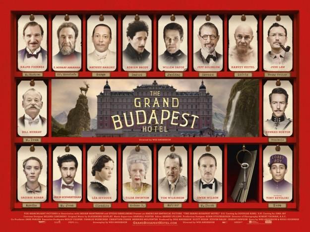 Cartel de Grand Hotel Budapest
