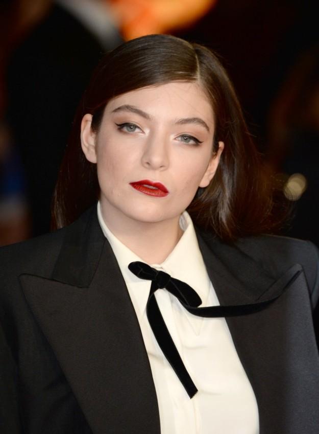 La cantautora neozelandesa Lorde.
