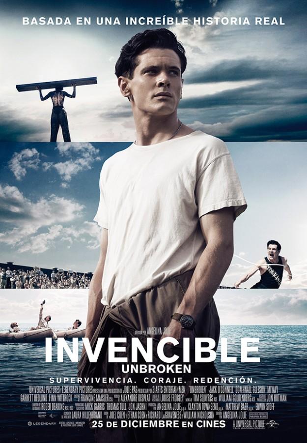 Invencible, la nueva peli dirigida por Angelina Jolie