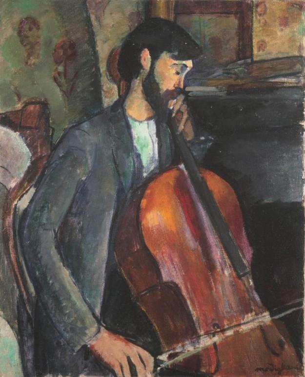 El Violonchelista, Modigliani