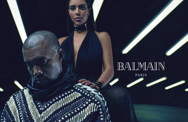 Imagen de la nueva campaña de Balmain