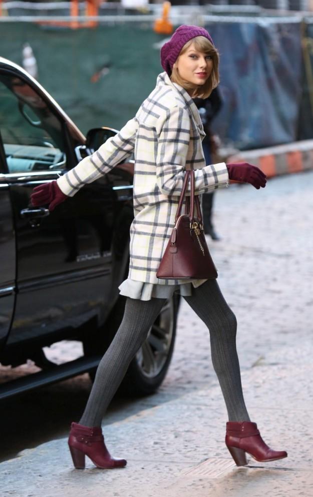 Uno de los últimos outfits invernales de Taylor Swift