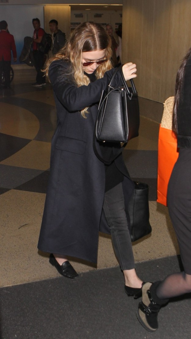 Ashley Olsen y su look de aeropuerto