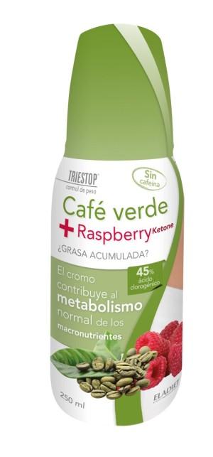 Café verde + raspberry ketone