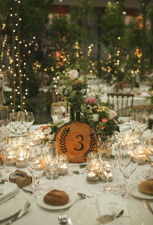 El banquete se caracterizó por un coctel de tres horas y un menú de lo más gallego.