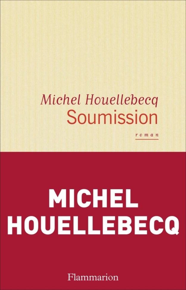 Portada de Soumission, de Michel Houellebecq.