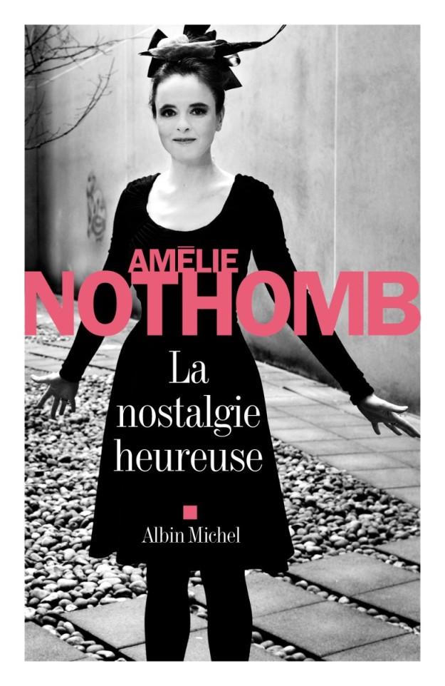 Portada de La nostalgia feliz, de Amélie Nothomb.