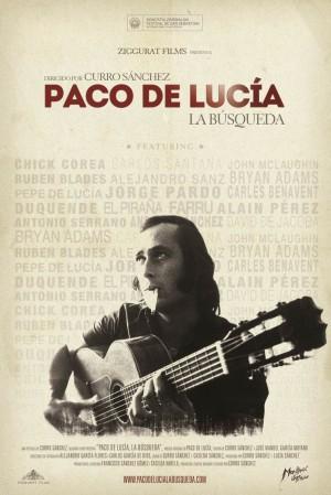 Cartel de Paco de Lucía: La Búsqueda.