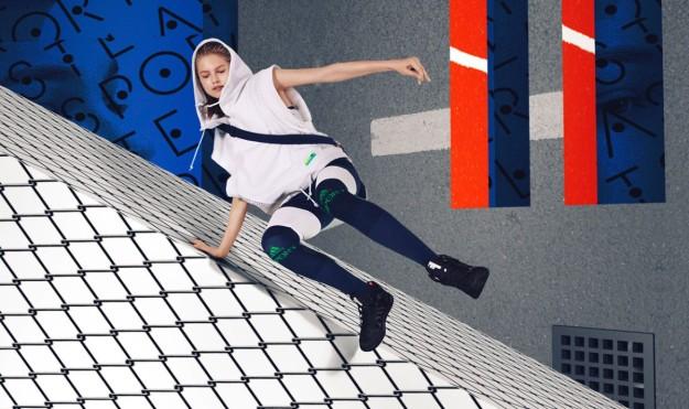 Imagen de la campaña Adidas Stellasport