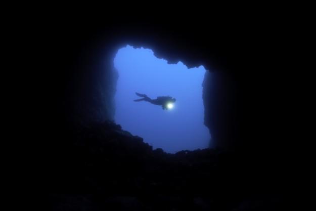 Un submarinista.