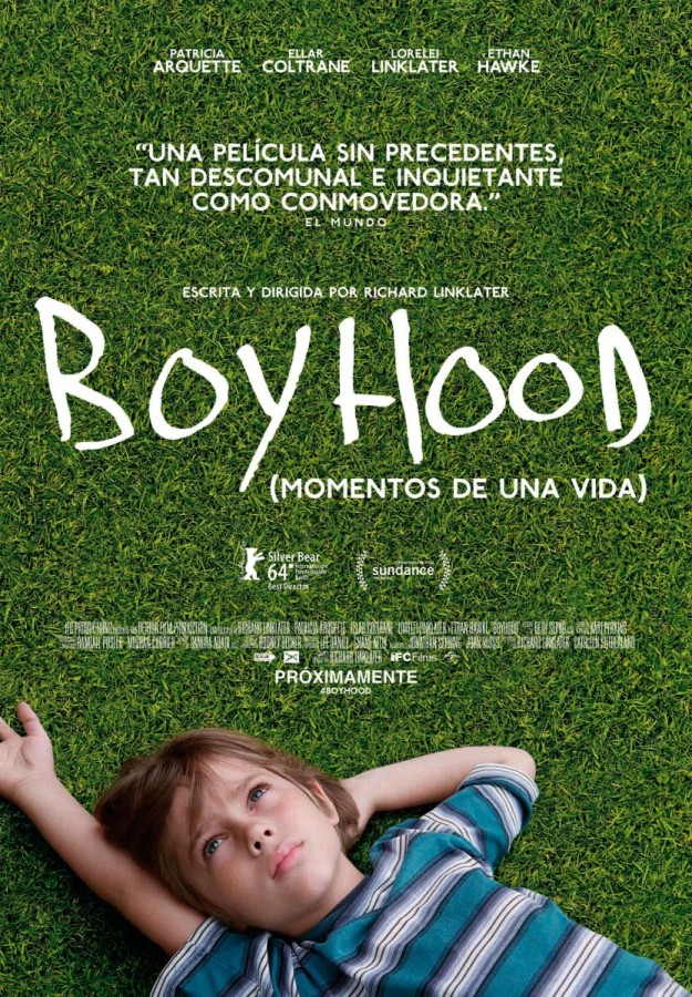 Cartel de Boyhood.