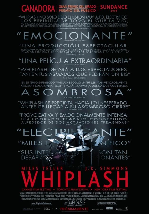 Cartel de Wihplash.