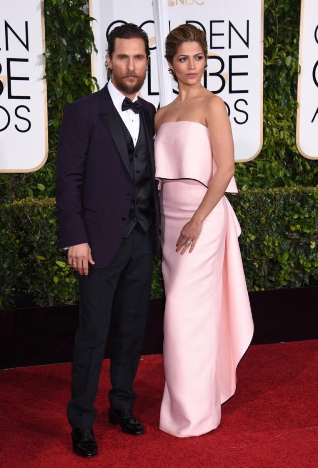 Camila Alves y Matthew McConaughey.