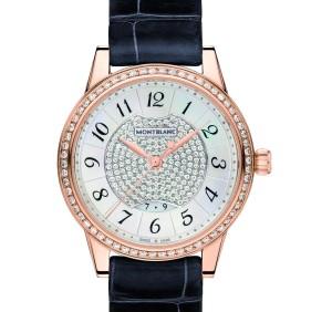 El reloj 'Bohème Date Automatic' que Carlota lució en el evento.