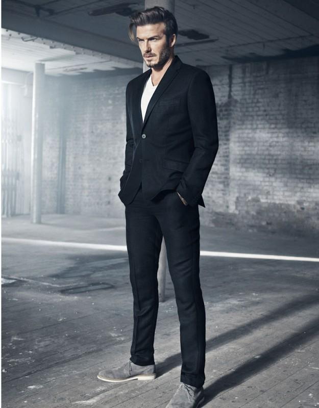 Imagen de la campaña Modern Essentials selected by David Beckham