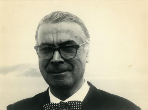 Retrato de Cristóbal Balenciaga.