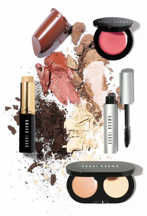 Productos de maquillaje de Bobbi Brown.