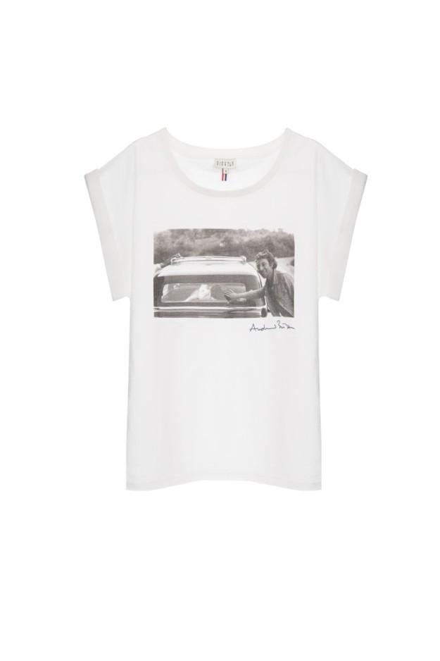 Camiseta con una foto de Serge Gainsbourg.