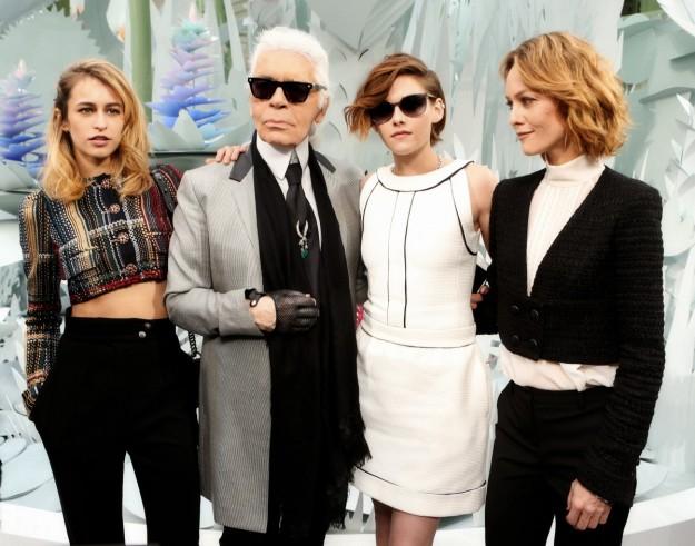 Alice Dellal, Kristen Stewart y Vanessa Paradis protagonizarán la nueva campaña de bolsos de Chanel.