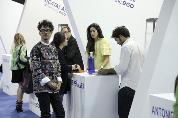 Stand de Beatriz Peñalver en el Samsung Ego.
