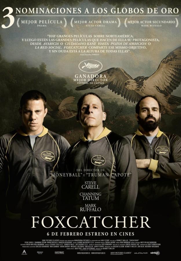Cartel de la película Foxcatcher.