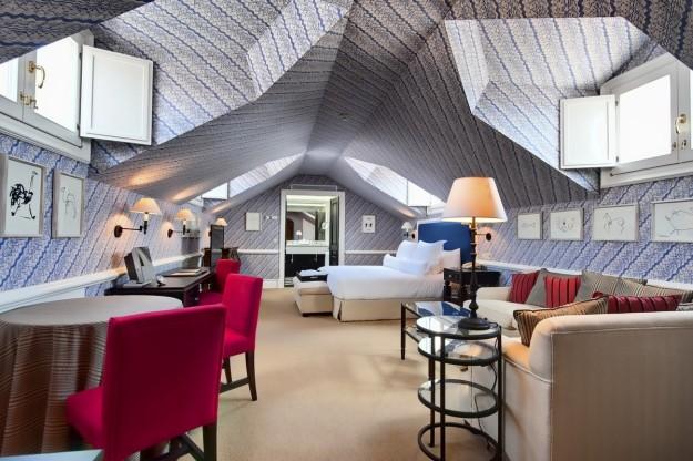 Suite del Hotel Villa Padierna Thermas de Carratraca, situado en el bello pueblo andaluz que lleva su nombre