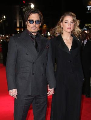 Jonny Depp y Amber Heard.