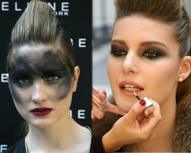 Look de maquillaje Femme Fatale.