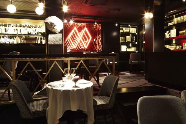 Interior del restaurante Doble.