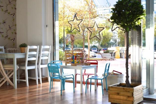 Espacio de Cocotte & Co (Valencia) dedicado a los niños.