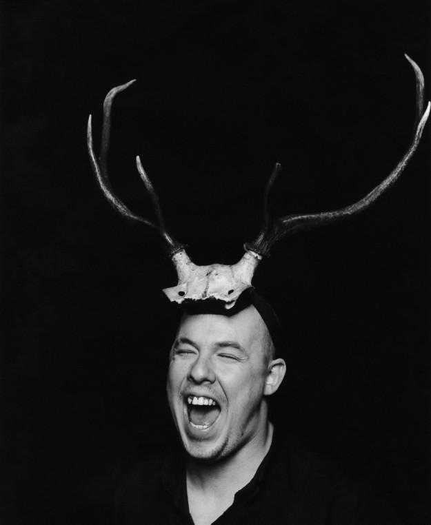 Retrato de Alexander McQueen en 2007.