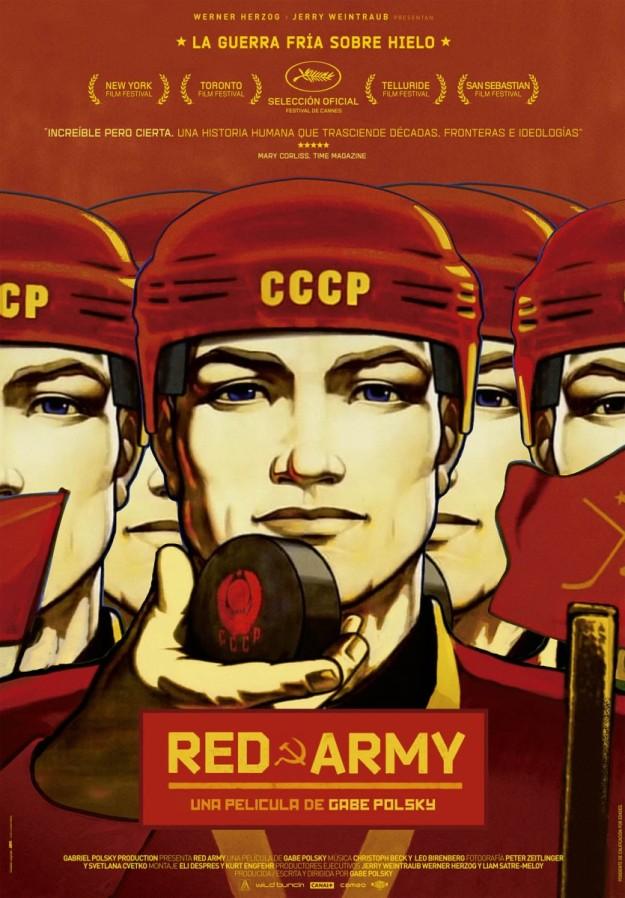 Cartel de Red Army.