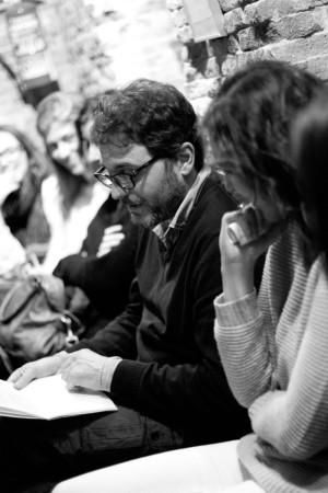 El escritor Domingo Villar.