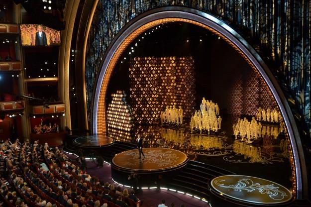 Interior del teatro Dolby.