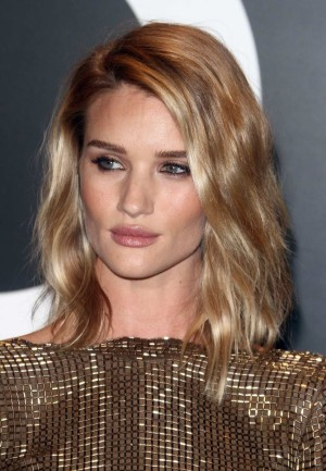 Las mechas splashlights de Rosie Huntington Whiteley