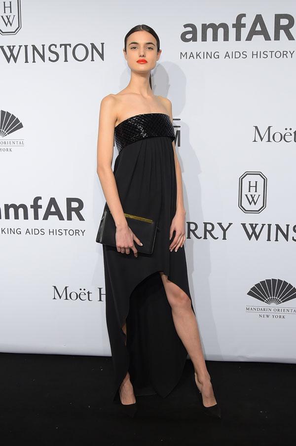 Blanca Padilla en la gala amfAr en Nueva York.