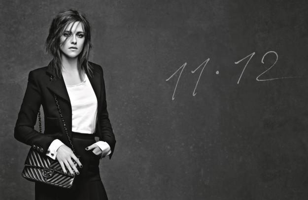 Kristen Stewart es la imagen del bolso '11.12' de Chanel.