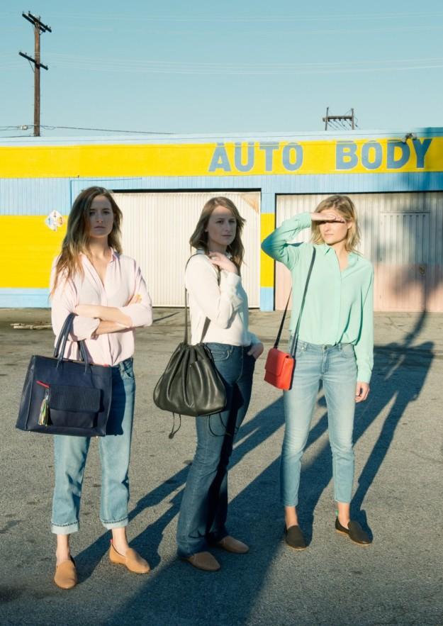 Las tres hermanas Gummer en su campaña para & Other Stories.