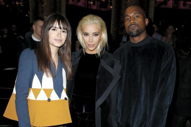 Miroslava Duma, Kim Kardashian y Kanye West.