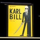 Karl Lagerfeld quiere ser (también) mito del cine