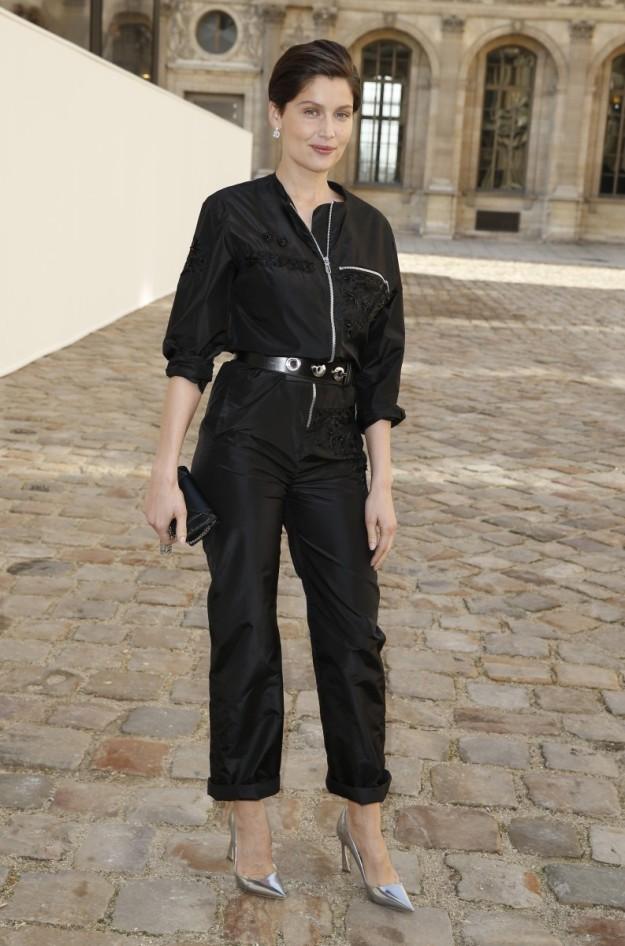 La modelo y actriz francesa Laetitia Casta.
